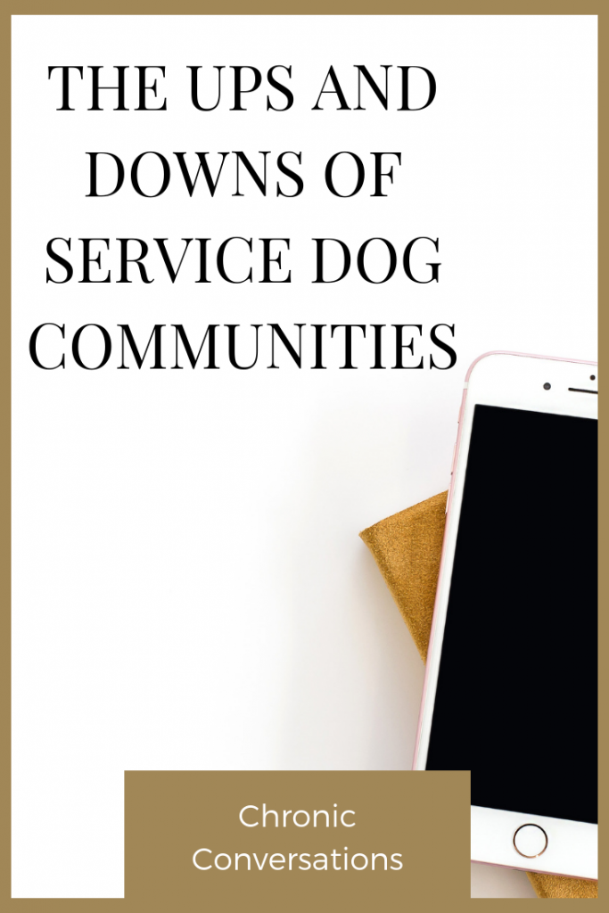 I'm terrified of online service dog communities. Sometimes, it feels like the cons outweigh the pros—but there are supportive handlers out there.